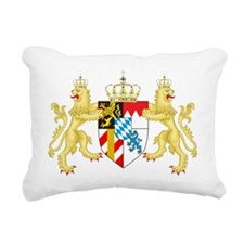 Coat of arms of the King Rectangular Canvas Pillow