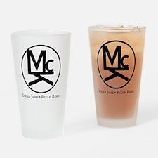 McK Brand Drinking Glass