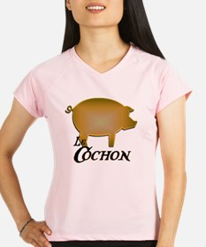 Le Cochon card Performance Dry T-Shirt