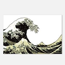 Hokusai Wave Postcards (Package of 8)