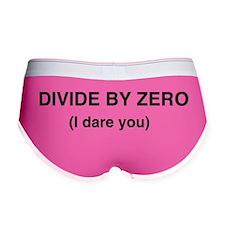 Divide by Zero. I Dare You Women's Boy Brief