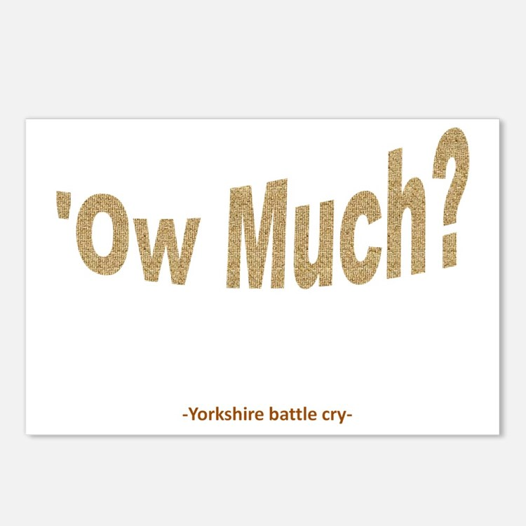 Ow Much?  Postcards (Package of 8)