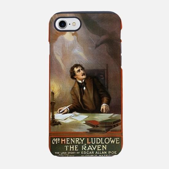 Raven - US Lithograph - 1908 iPhone 7 Tough Case