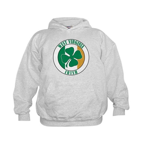 West Virginia Irish Kids Hoodie