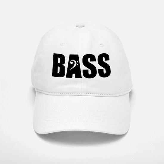 BASS_BLACK Baseball Baseball Cap