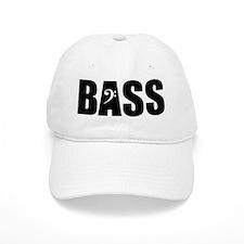 BASS_BLACK Baseball Cap