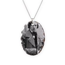 Chopin Necklace Oval Charm