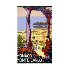 Antique Monaco Land of Sun Tra Decal