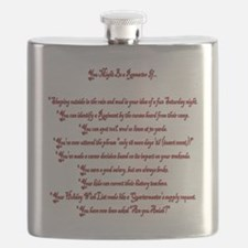 You Might Be a Reenactor If... Flask