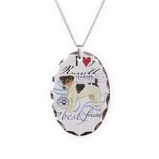 russell-slider2 Necklace Oval Charm