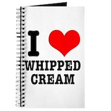 I Heart (Love) Whipped Cream Journal