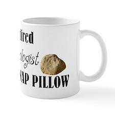 retired geologist pillow Mug