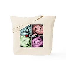 Colorfull ferrets Tote Bag