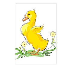Cute Easter Duck Postcards (Package of 8)