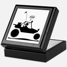 Stickman Sand Rail Black Image Keepsake Box