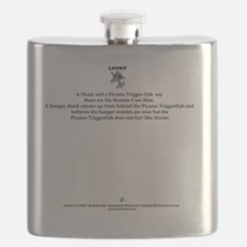 Shark an Trigger-fish Flask