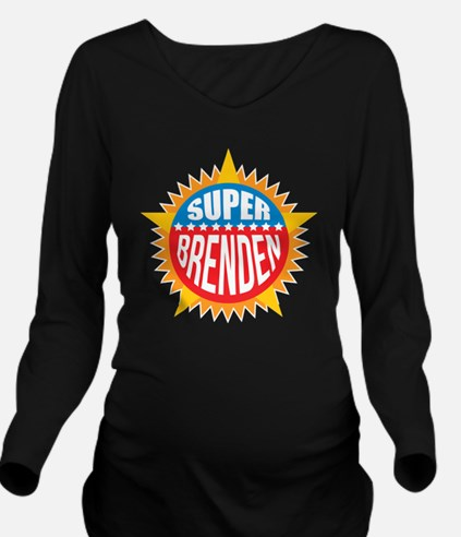 Super Brenden Long Sleeve Maternity T-Shirt