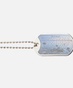 Do It Anyway Dog Tags