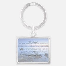 Do It Anyway Landscape Keychain