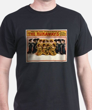 The runaways - US Lithograph - 1908 T-Shirt