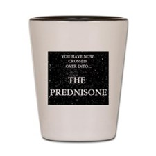 The Prednisone Shot Glass