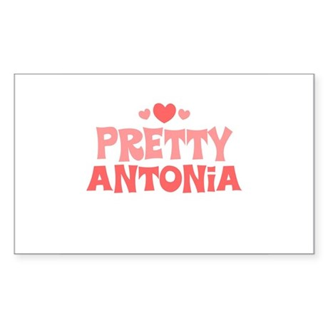 Antonia Rectangle Sticker