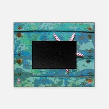 Starfish and Turquoise Seashore Picture Frame