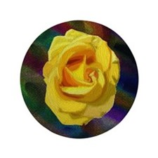 "Rose 3.5"" Button"