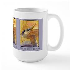 Gold Moon Heron Mug