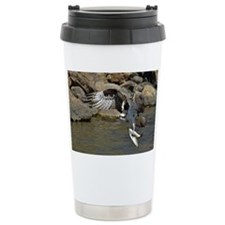 osprey with 2 fish Travel Coffee Mug