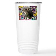Emma Tabby Kitten in Bu Travel Mug