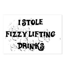 I stole fizzy lifting dri Postcards (Package of 8)
