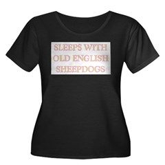 SLEEPS WITH OLD ENGLISH SHEEP T