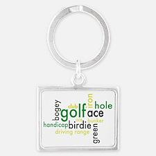 Golf Landscape Keychain