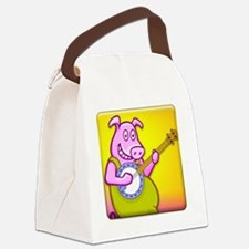 Filthy Banjo Playing Canvas Lunch Bag