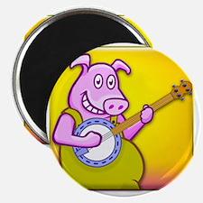 Filthy Banjo Playing Magnet