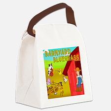 Barnyard Bluegrass - Whole Band Canvas Lunch Bag
