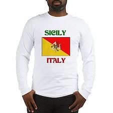 Sicily Italy Long Sleeve T-Shirt
