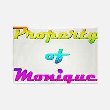 Property Of Monique Female Magnets