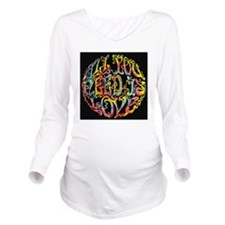 all-need-love-513-PL Long Sleeve Maternity T-Shirt