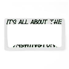Washingtons License Plate Holder