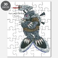 Mr. Mole Image Puzzle