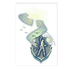 Teslas Wardenclyffe Tower Postcards (Package of 8)