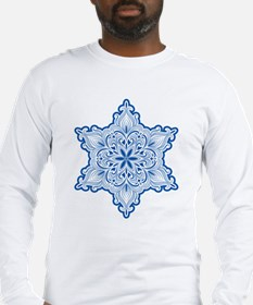 Lacy Snowflake Long Sleeve T-Shirt