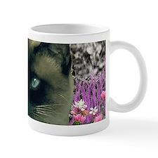 Stella Siamese Cat in Flowers I Mug