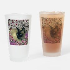 Stella Chocolate Point Siamese Flow Drinking Glass