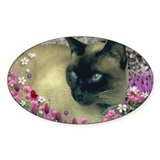 Stella Chocolate Point Siamese Flow Decal