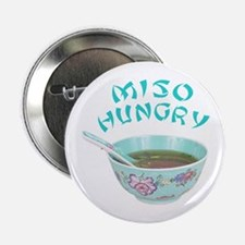 """Miso Hungry 2.25"""" Button"""