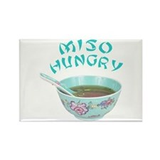 Miso Hungry Rectangle Magnet