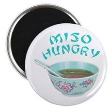 Miso Hungry Magnet